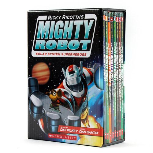 마이티 로봇 Ricky Ricottas Mighty Robot 1~8권 세트 (Paperback 8권)