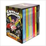 The Gigantic Collection of Captain Underpants (Book #1~12) (12 Paperbacks)