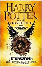 Harry Potter and the Cursed Child - Parts One and Two : The Official Playscript of the Original West End Production (Paperback)