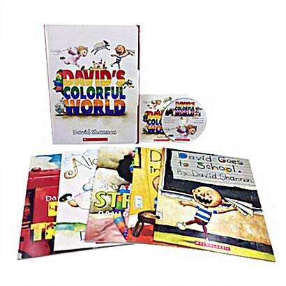 Davids Colorful World (5 Books + 1 Audio CD)