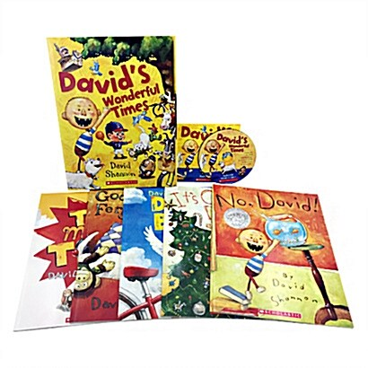 Davids Wonderful Times (5 Books + 1 Audio CD)