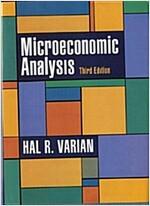 Microeconomic Analysis (Hardcover, 3)