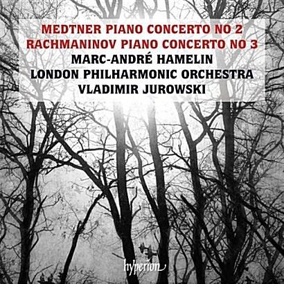 [수입] 라흐마니노프 : 피아노 협주곡 3번 & 메트너 : 피아노 협주곡 2번