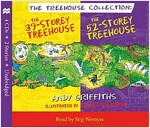 The 39-Storey & 52-Storey Treehouse CD Set (Paperback, Main Market Ed.)