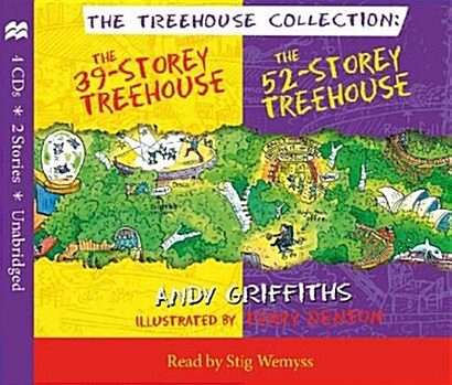The 39-Storey & 52-Storey Treehouse CD Set (Package)