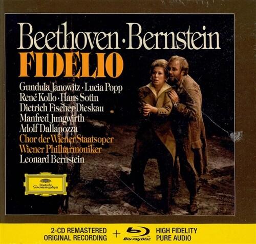 [수입] 베토벤 : 피델리오 (2CD + Blu-ray Audio)