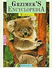 Grzimeks Encyclopedia of Mammals (Hardcover, 2nd)
