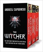 The Witcher Boxed Set: Blood of Elves, the Time of Contempt, Baptism of Fire (Paperback)