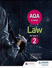 AQA A-Level Law for Year 2 (Paperback)