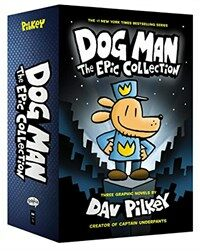 Dog Man: The Epic Collection: From the Creator of Captain Underpants (Boxed Set)