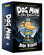 Dog Man #1~3 Boxed Set : The Epic Collection 도그맨 3종 세트 (Hardcover 3권)