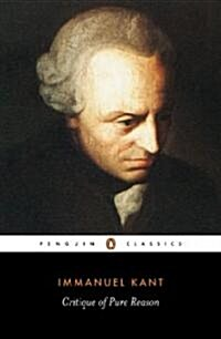 Critique of Pure Reason (Paperback)