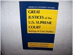 Great Justices of the U.S. Supreme Court: Ratings and Case Studies Second Printing (Hardcover, 2)