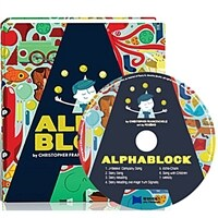 노부영 Alphablock (Boardbook + CD)