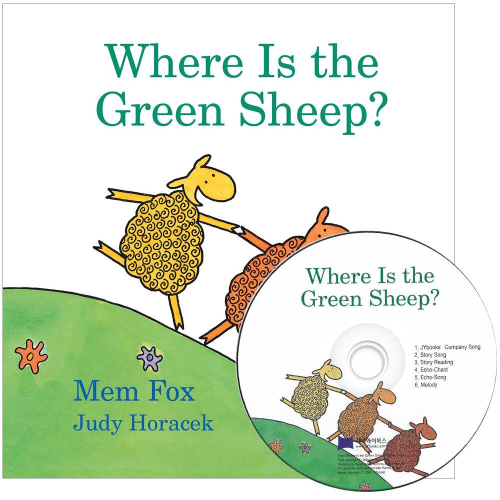 노부영 세이펜 Where Is the Green Sheep? (Paperback + CD)
