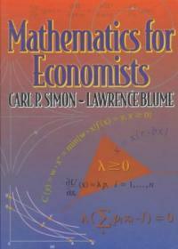 Mathematics for Economists (Hardcover)