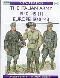 The Italian Army in World War II (Paperback)