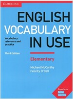 English Vocabulary in Use Elementary Book with Answers : Vocabulary Reference and Practice (Paperback, 3 Revised edition)