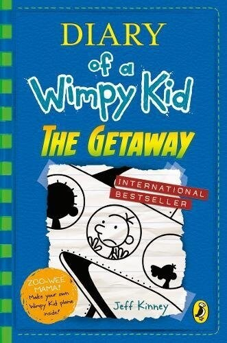 Diary of a Wimpy Kid #12 : The Getaway (Hardcover, 영국판)
