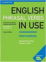 English Phrasal Verbs in Use Intermediate Book with Answers : Vocabulary Reference and Practice (Paperback, 2 Revised edition)