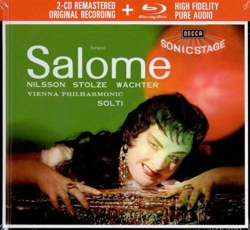 [수입] R.슈트라우스: 살로메 (2CD + Blu-ray Audio)