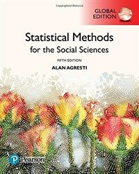 Statistical Methods for the Social Sciences, Global Edition (Paperback, 5 ed)