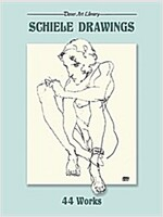 Schiele Drawings: 44 Works (Paperback)