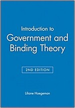 Introduction to Government and Binding Theory (Paperback, 2nd Edition)
