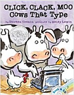 Click, Clack, Moo: Cows That Type [With CD (Audio)] (Paperback, Book and CD)