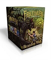 Fablehaven Complete Set (Boxed Set): Fablehaven; Rise of the Evening Star; Grip of the Shadow Plague; Secrets of the Dragon Sanctuary; Keys to the Dem (Boxed Set, Boxed Set)