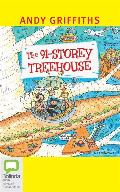 The 91-storey Treehouse (Audio CD, Unabridged)