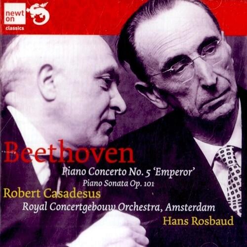 [수입] 베토벤 : 피아노 협주곡 5번 황제 & 피아노 소나타 28번