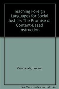Content-based foreign language teaching : curriculum and pedagogy for developing advanced thinking and literacy skills
