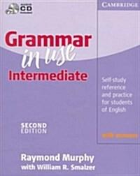 [중고] Grammar in Use Intermediate With Answers (Paperback, Compact Disc, 2nd)