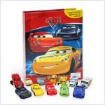 My Busy Book : Disney Cars 3 디즈니 픽사 카3 비지북 (미니피규어 12개 + 놀이판)