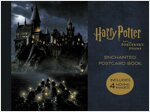 Harry Potter and the Sorcerer's Stone Enchanted Postcard Book (Postcard 20장)