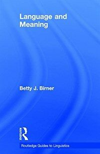 Language and meaning / First edition