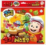 코코몽3 레스토랑 핑거펀스티커