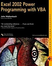 Excel 2002 Power Programming With Vba (Paperback, CD-ROM)