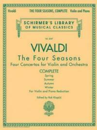 Antonio Vivaldi - The Four Seasons, Complete: Schirmer Library of Classics Volume 2047 (Paperback)