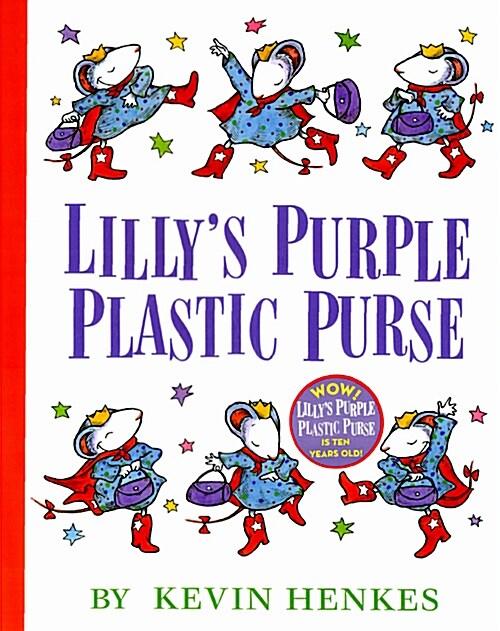 Lillys Purple Plastic Purse (Hardcover)