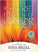 The Secret Language of Color Cards [With Paperback Book] (Other)