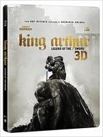 [3D 블루레이] 킹 아서: 제왕의 검 - 스틸북 한정판 (2disc: 3D+2D)
