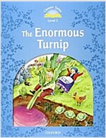 Classic Tales Level 1-5: The Enormous Turnip (MP3 pack) (Book & MP3 download , 2nd Edition)