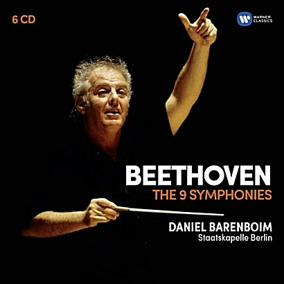 [수입] 베토벤 : 교향곡 전곡 [오리지널 커버 6CD]