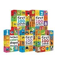 우리 아이 첫번째 영어사전 5종 세트 First 100 Collection 세트 (보드북 5권, 세이펜 에디션)