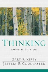Thinking : an interdisciplinary approach to critical and creative thought 4th ed