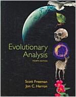 [중고] Evolutionary Analysis (Hardcover, 4th revised United States ed)