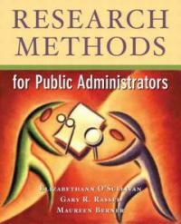 Research methods for public administrators 4th ed