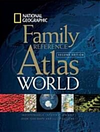 National Geographic Family Reference Atlas of the World (Hardcover, 2nd)